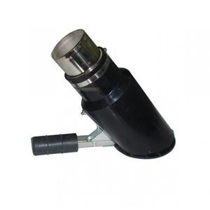 Газоприемная насадка со скосом и крышкой Ø102мм FS-Oblique