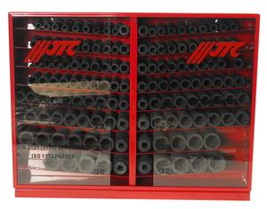 """Набор головок торцевых 1/2"""" 6-ти гранных 10-32мм ударных в металлическом шкафу 137 предметов JTC-JTC-J4137L"""