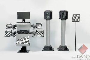 Cтенд сход-развал 3D для грузовых автомобилей Техновектор 7204 HT A